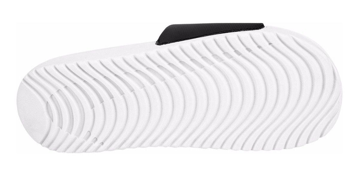Sandália Nike Kawa Slide W Feminino - Preto e Rosa