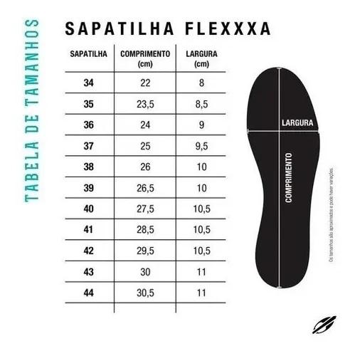Sapatilha Beach Tennis Flexxxa Mormaii - Preta  - PROTENISTA