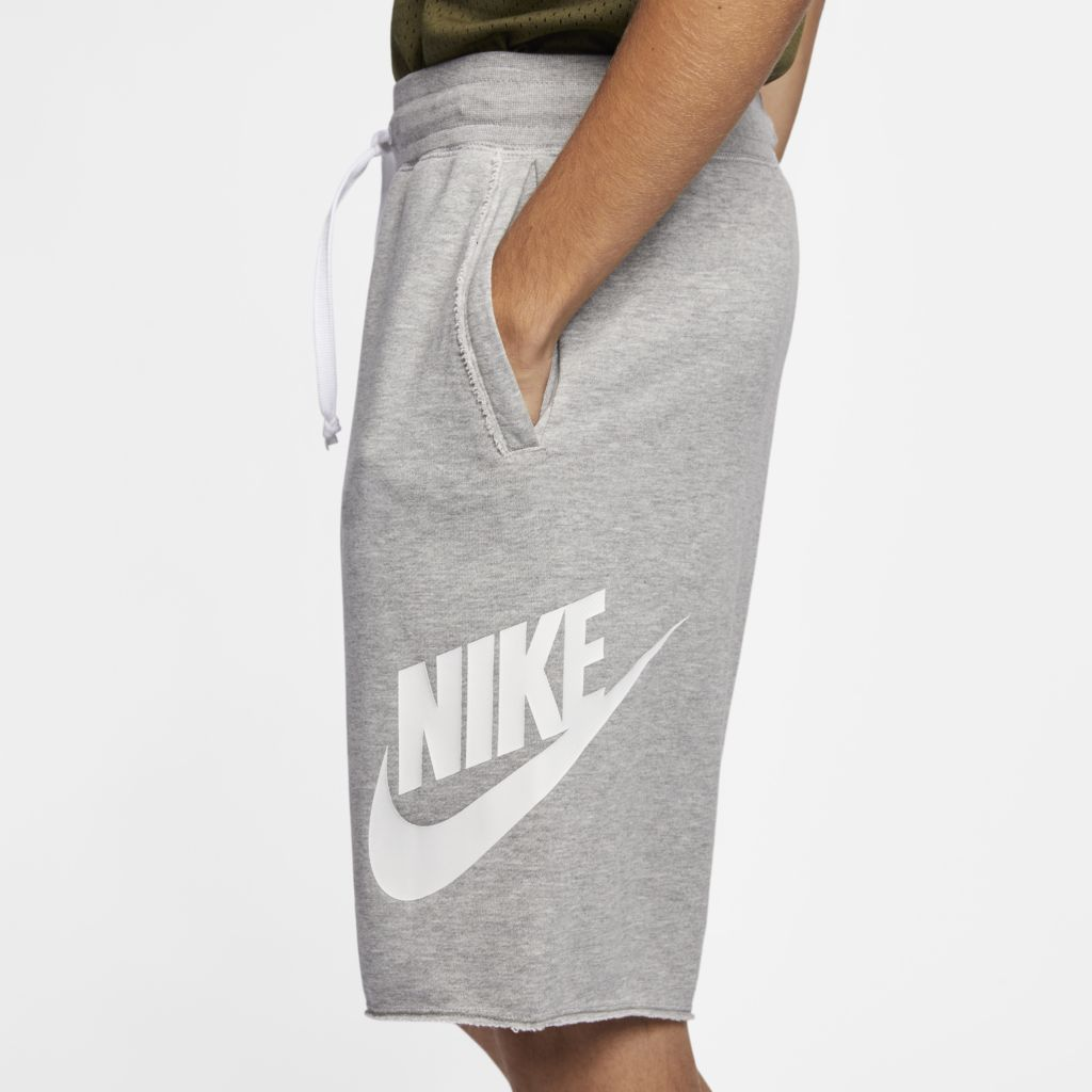 Shorts Nike Sportswear Masculino Cinza  - PROTENISTA