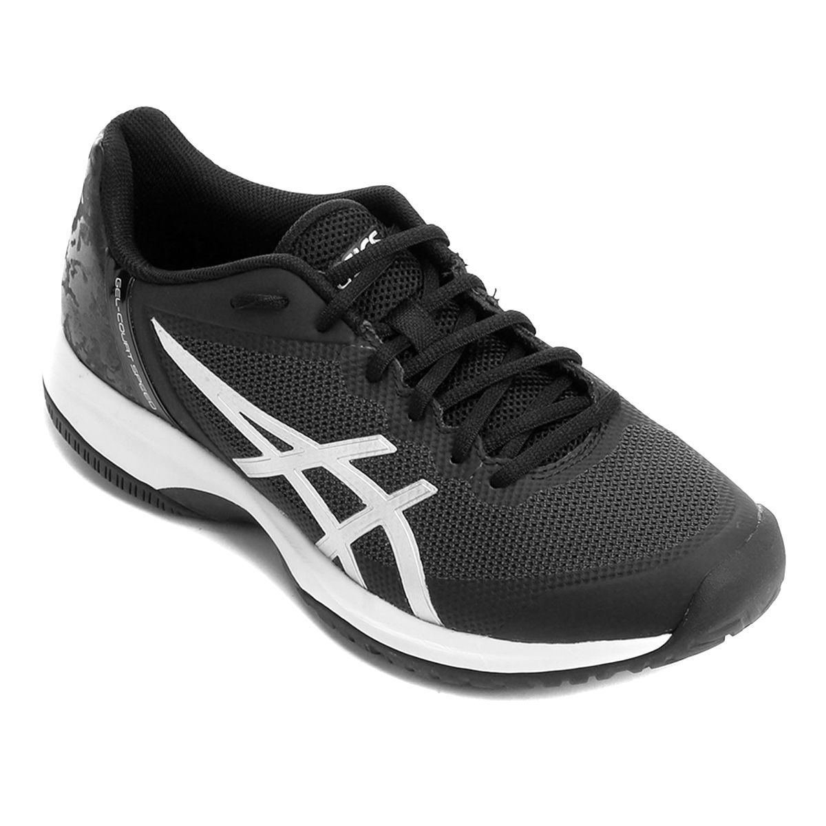 Tênis Asics Gel Court Speed - Preto e Branco