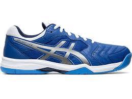Tênis Asics Gel Dedicate 6 - Azul e Branco