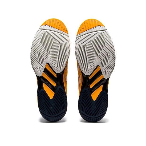 Tênis Asics Solution Speed FF 2 Amarelo e Branco  - PROTENISTA