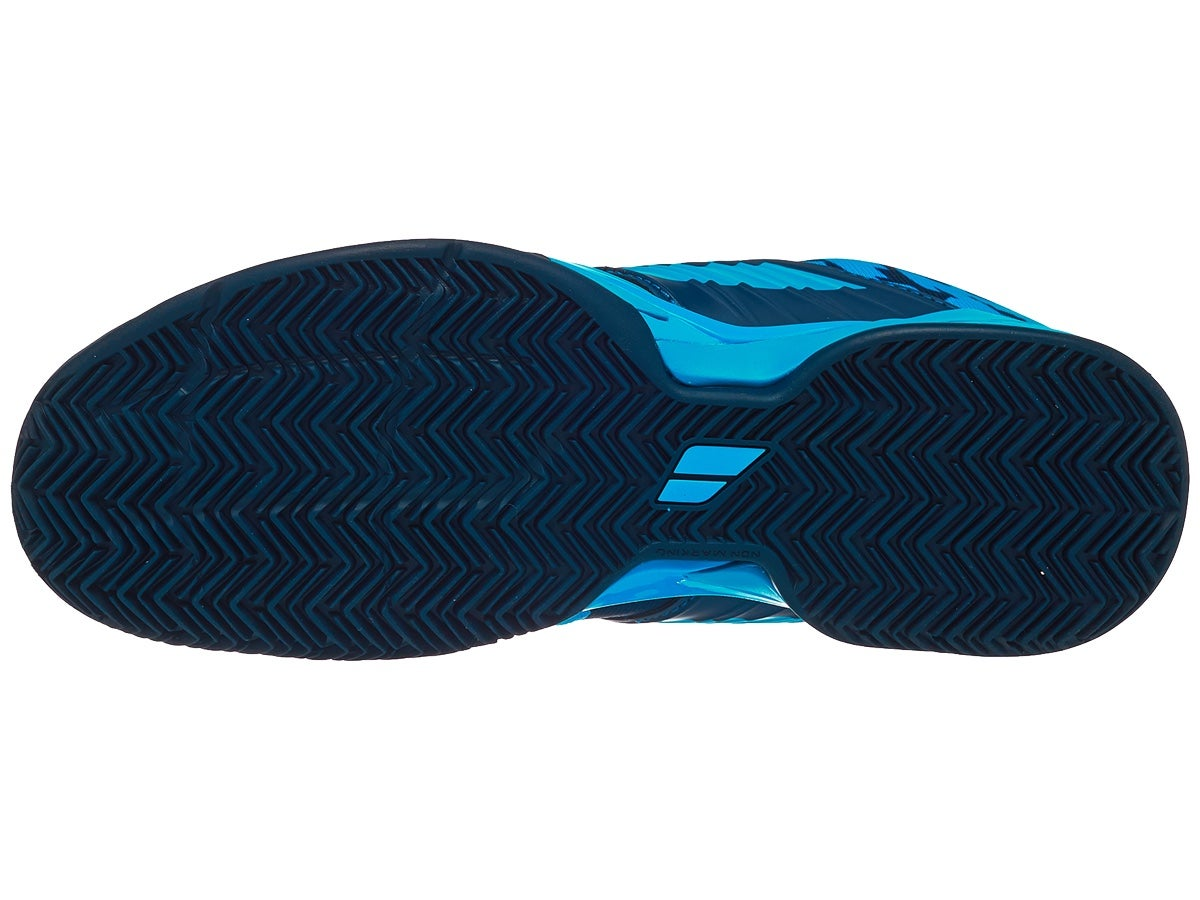 Tênis Babolat Propulse Fury Clay - Azul  - PROTENISTA