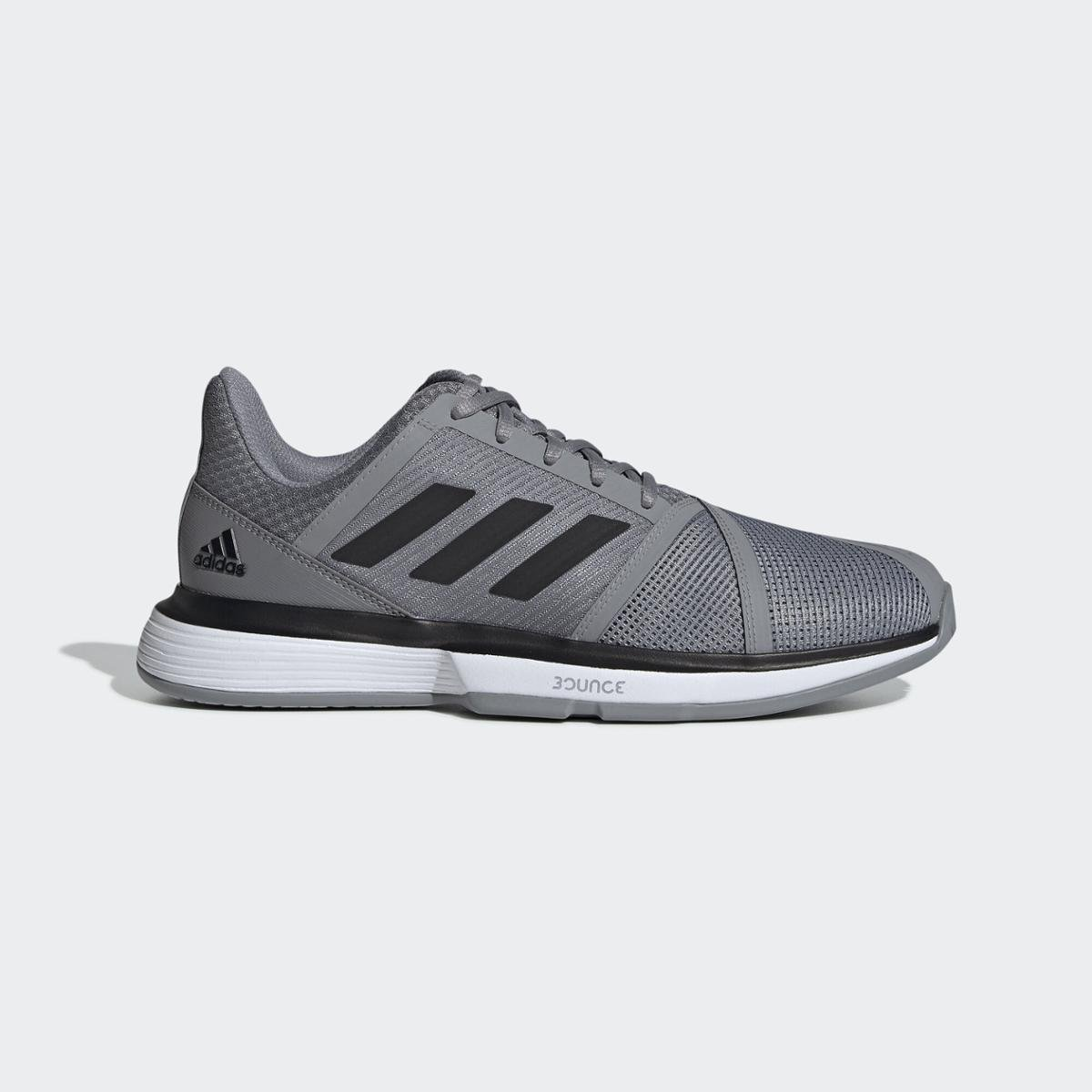 Tênis Courtjam Bounce Adidas - Cinza  - PROTENISTA