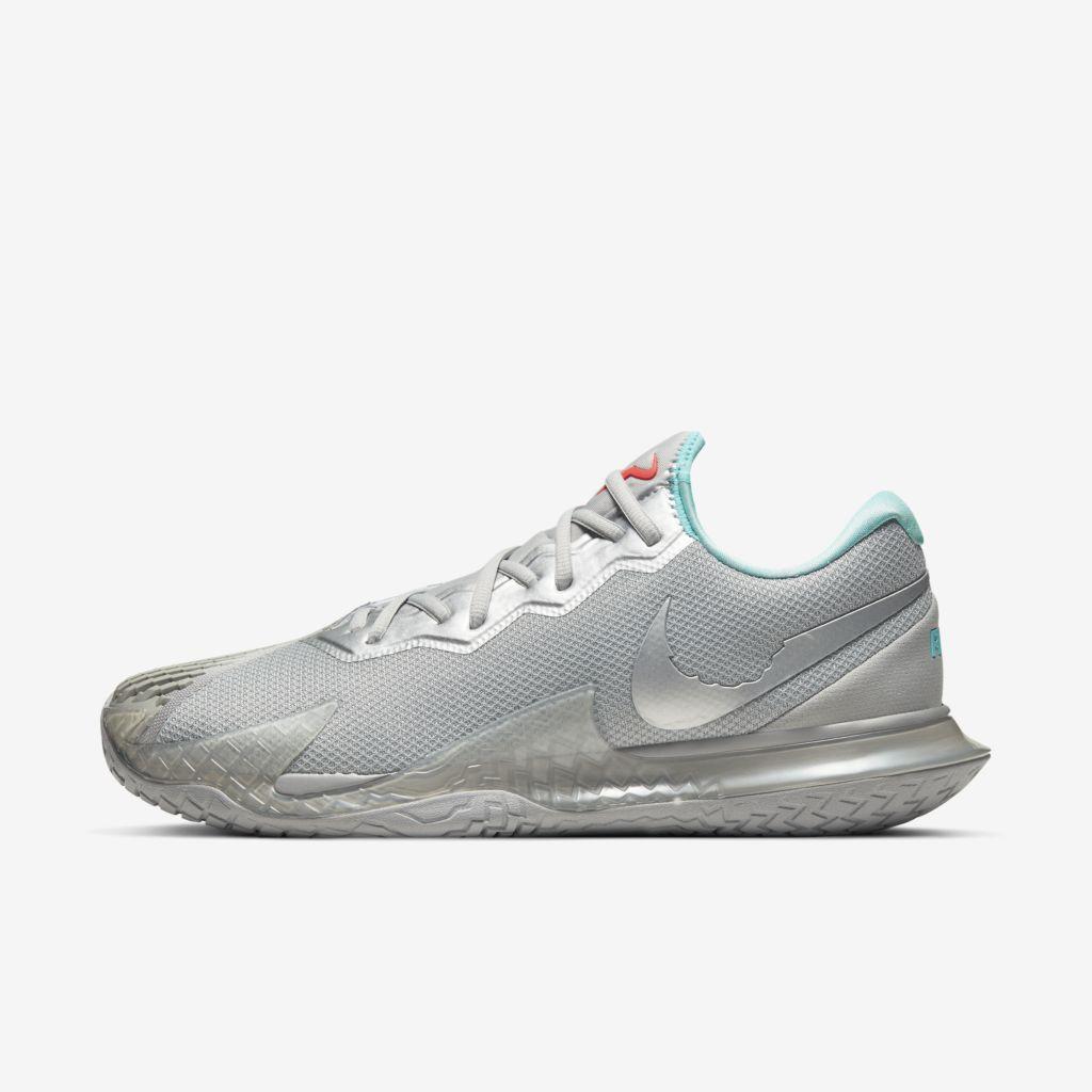 Tênis Nike Air Zoom Vapor Cage 4 HC Masculino - Prata
