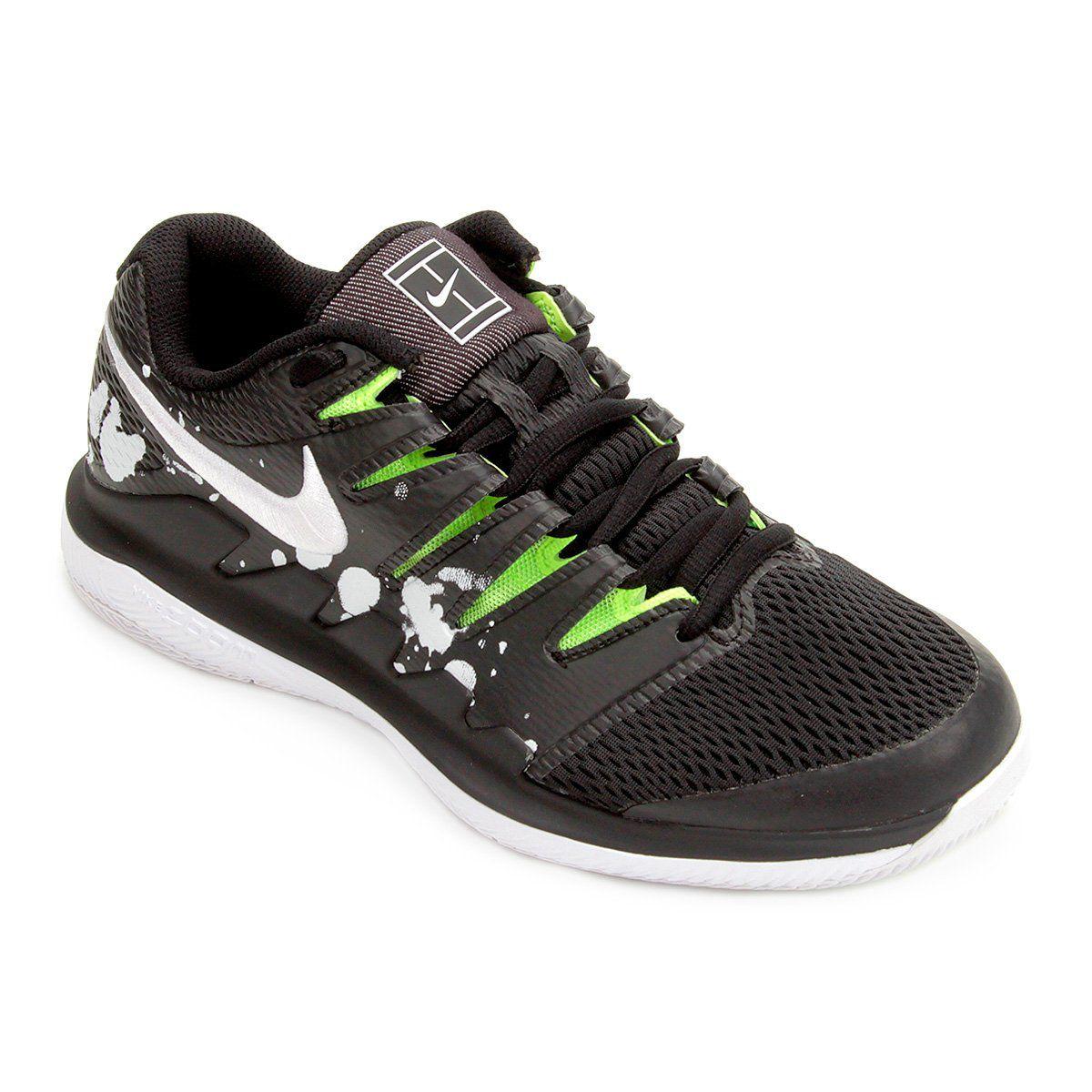 Tênis Nike Air Zoom Vapor X PRM Masculino - Preto e Branco