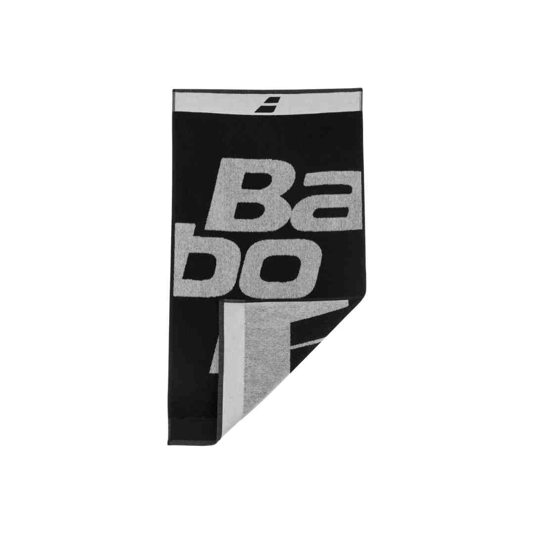 Toalha Babolat Medium Towel Preta  - PROTENISTA