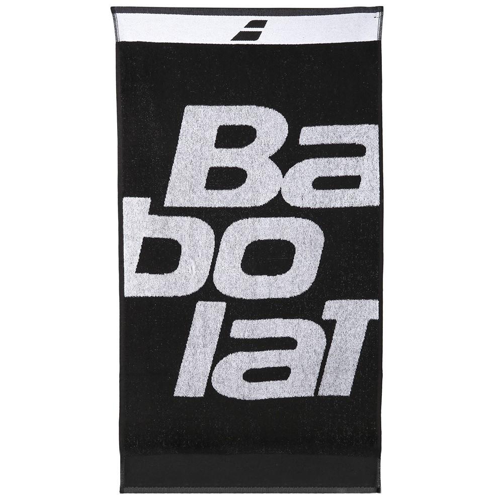 Toalha Babolat Medium Towel Preto e Branco  - PROTENISTA
