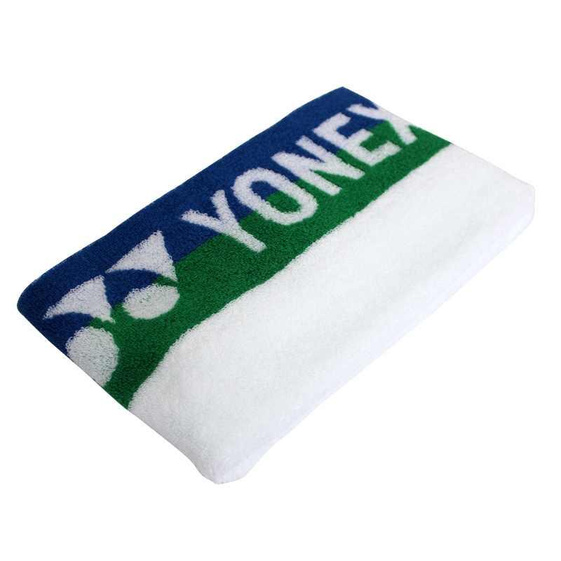 Toalha Yonex Branca, Verde e Azul  - PROTENISTA