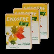 Enxofre dimy - kit 10 caixas 300 gr