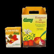 Enxofre + Fertilizante esterco de frango - dimy