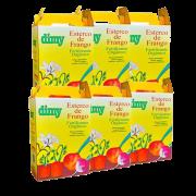 Fertilizante esterco de frango - dimy - kit 6 x 1 kg