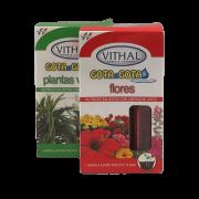 Fertilizante Gota a Gota -  Flores e  Plantas Verdes - Vithal - 12 ampolas