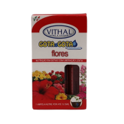 Fertilizante Gota a Gota - Flores - Vithal - 6 ampolas