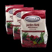 Fertilizante Jardim Fértil - Efeito Duradouro -Vithal - 3kg