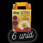 Fertilizante Mineral Dimy 04.14.08 - kit 6 x  1 kg