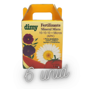 Fertilizante Mineral Dimy 10.10.10 - kit 6 x  1 kg