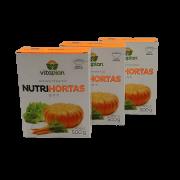Nutrihortas - 500 gr- kit 3 caixas 500 gr