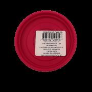 Prato plástico para vaso - rosa - 07 cm