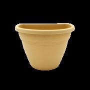 Vaso de parede - areia - 11 x 15 cm - Kit 22 unid