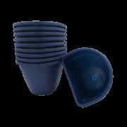 Vaso de parede - azul marinho - 11 x 15 cm - Kit 10 un