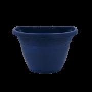 Vaso de parede - azul marinho - 17 x 23 cm