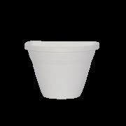 Vaso de parede - branco - 11 x 15 cm