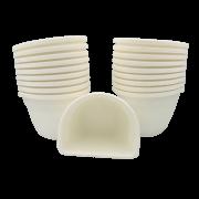 Vaso de parede - branco - 11 x 15 cm - Kit 24 un