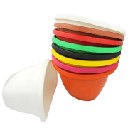 Vaso de parede - kit colorido - 17 X 23 cm - 30 unidades
