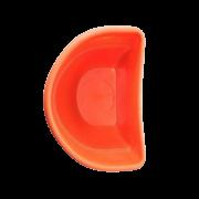 Vaso de parede - laranja - 17 x 23 cm