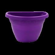 Vaso de parede - roxo - 17 x 23 cm