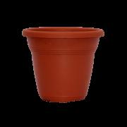 Vaso plástico - vicenza - ceramica - 10 x 13 cm