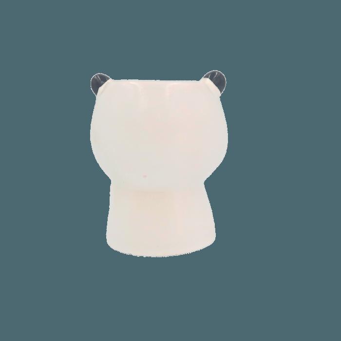 Cachepo de ceramica - urso panda modelo 3