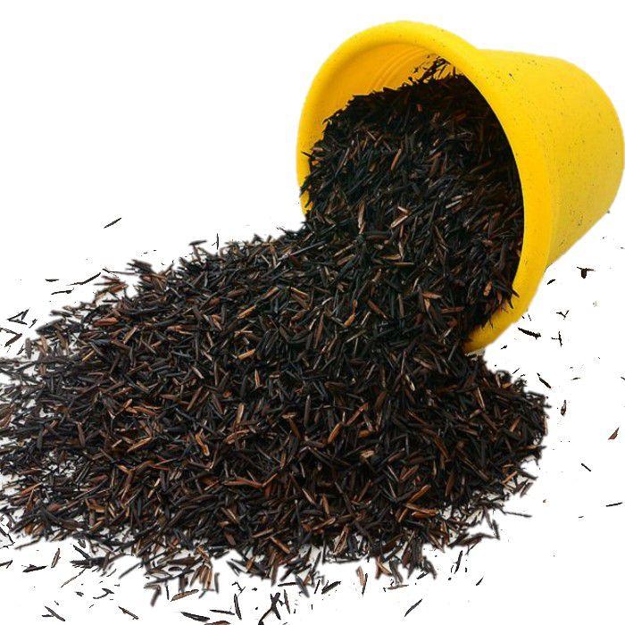 Casca de Arroz Carbonizada - 500 gramas