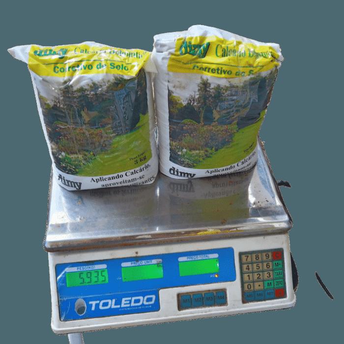 Corretivo de Solo Calcário Dolomítico Dimy - 5,9 kg