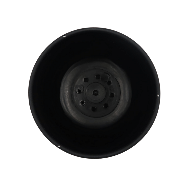 Cuia com prato - preto - 09 x 15 cm kit 6 unid