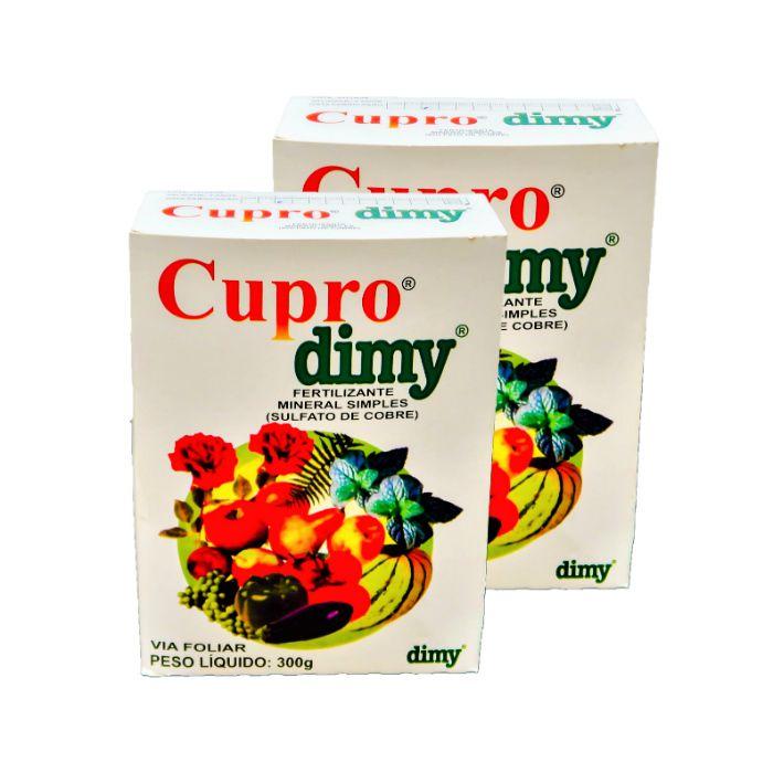 Cupro dimy - kit 02 caixas 300 gr