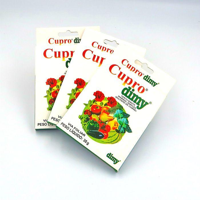 Cupro dimy - kit 03 caixas 30 gr + brinde