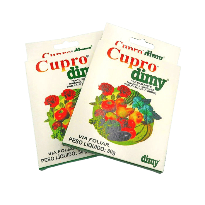 Cupro dimy - kit 05 caixas 30 gr