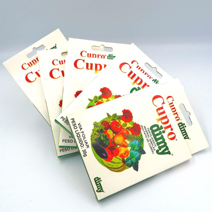 Cupro dimy - kit 05 caixas 30 gr + brinde
