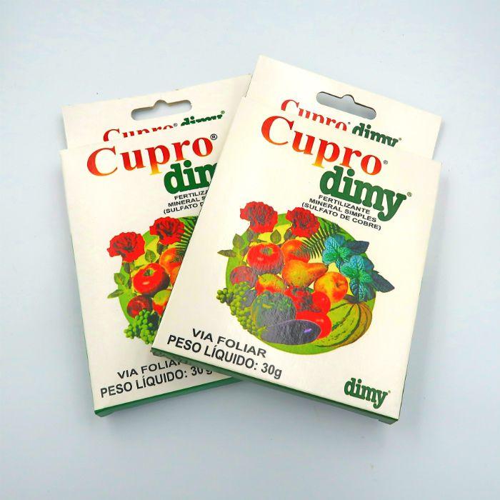 Cupro dimy - kit 10 caixas 30 gr + brinde