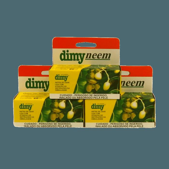Dimy Neem 20 ml - Kit 3 unid