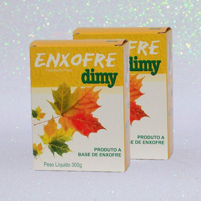 Enxofre dimy - kit 02 caixas 300 gr + brinde
