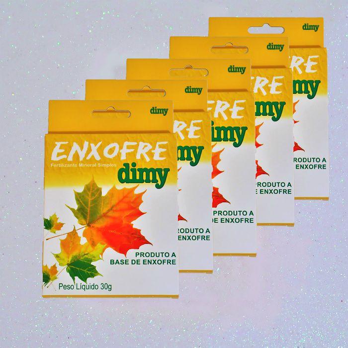 Enxofre dimy - kit 05 caixas 30 gr