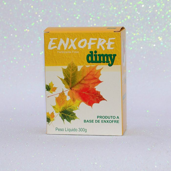 Enxofre dimy - kit 06 caixas 300 gr + brinde