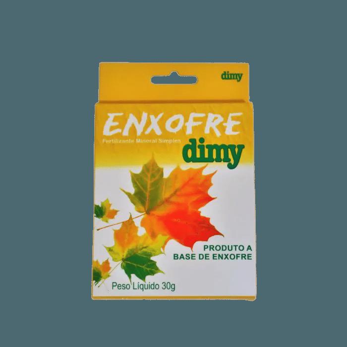 Enxofre dimy - kit 10 caixas 30 gr