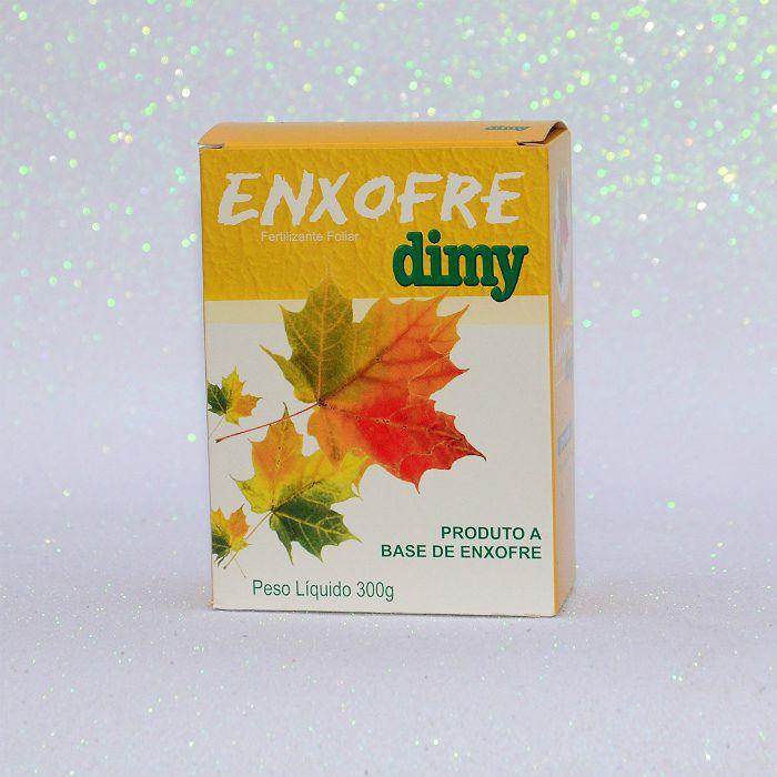 Enxofre dimy - kit 12 caixas 300 gr + brinde