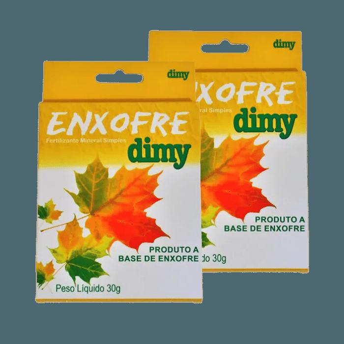 Enxofre dimy - kit 30 caixas 30 gr