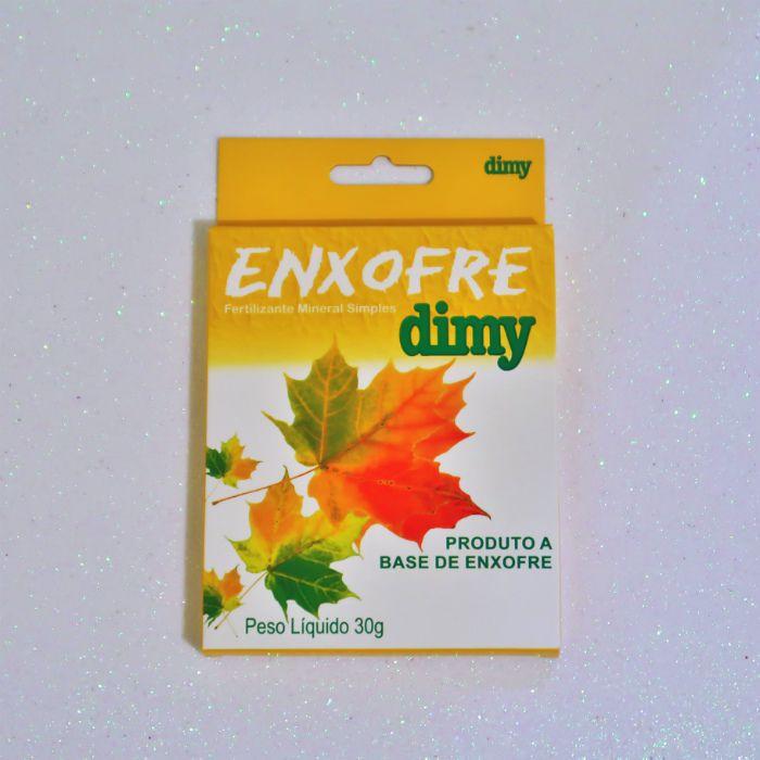 Enxofre dimy - kit 60 caixas 30 gr