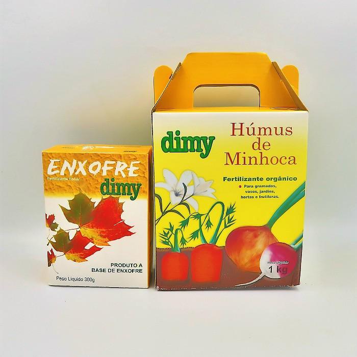 Enxofre + Humus de minhoca - Dimy